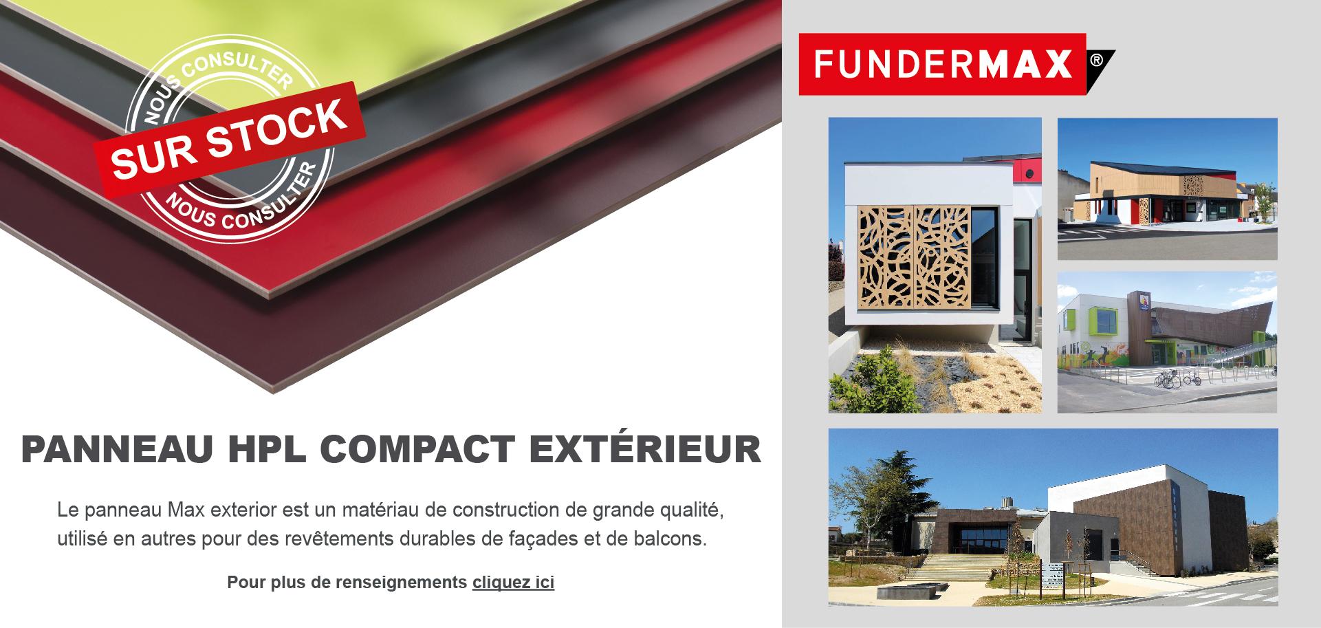 Panneau HPL compact extérieur - Doineau