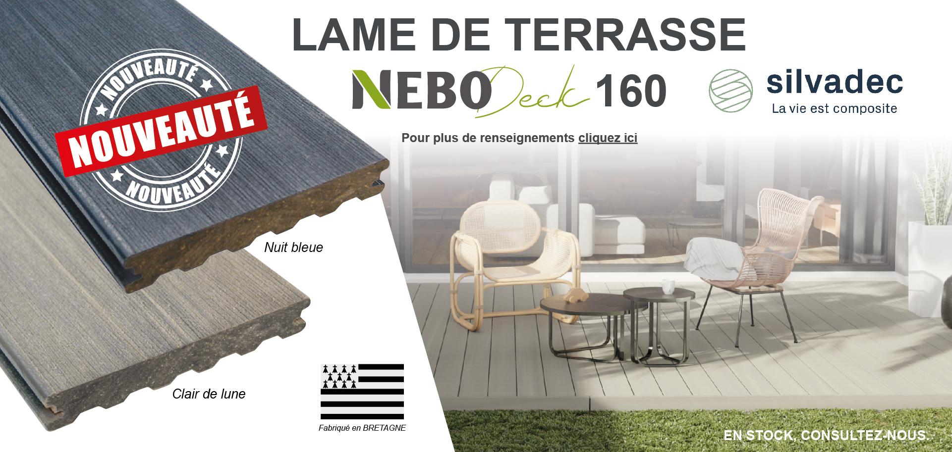 Lame de terrasse NeboDeck 160